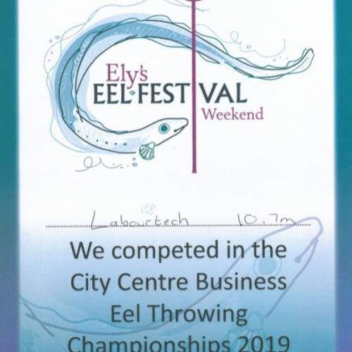 World Eel Throwing Competition 2019