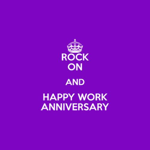 Celebrating work anniversaries!