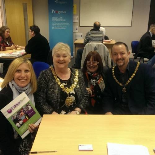 Labourtech meets with the Mayor of Cambridge